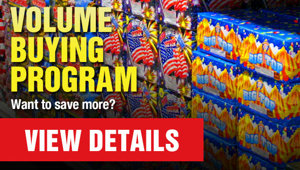 Low Prices - We carry one of the largest selections of New Hampshire consumer fireworks!