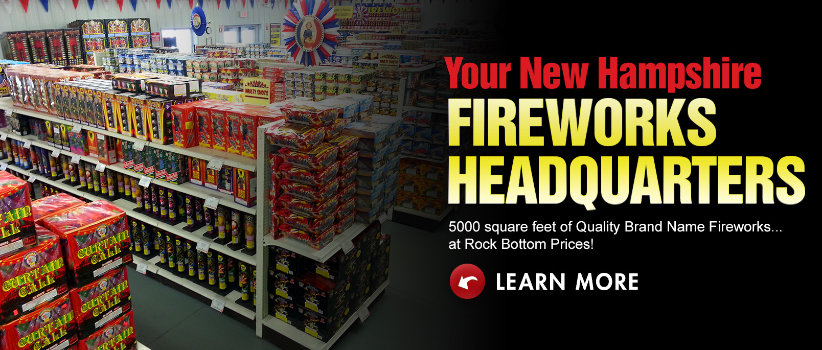 Stateline Fireworks New Hampshire Fireworks Factory Outlet